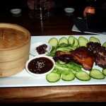 Szechwan-style sliced duck with crepes