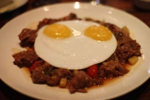 House-Brined Corned Beef Hash