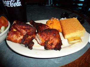 Stubb's Chicken Plate