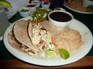 Guero's Fish Tacos