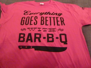 Everything Goes Better With Bar-B-Q!
