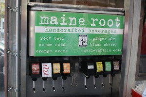 Maine Root soda fountain