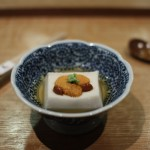 Tofu with Sea Urchin