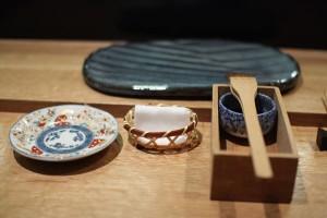Sushi place-setting