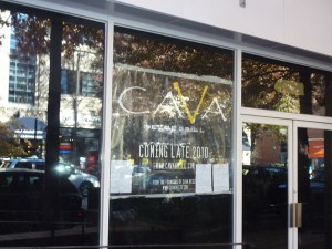 Cava Grill Storefront in Bethesda