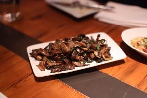 Roasted Wild Mushrooms, Parsley, Garlic