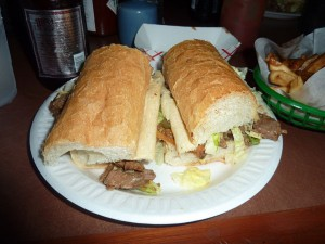 Roast Beef Po-Boy