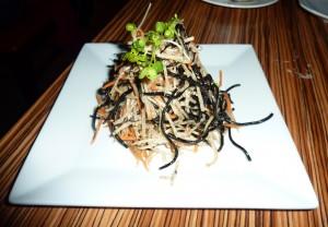Hijiki Seaweed-jicama Salad