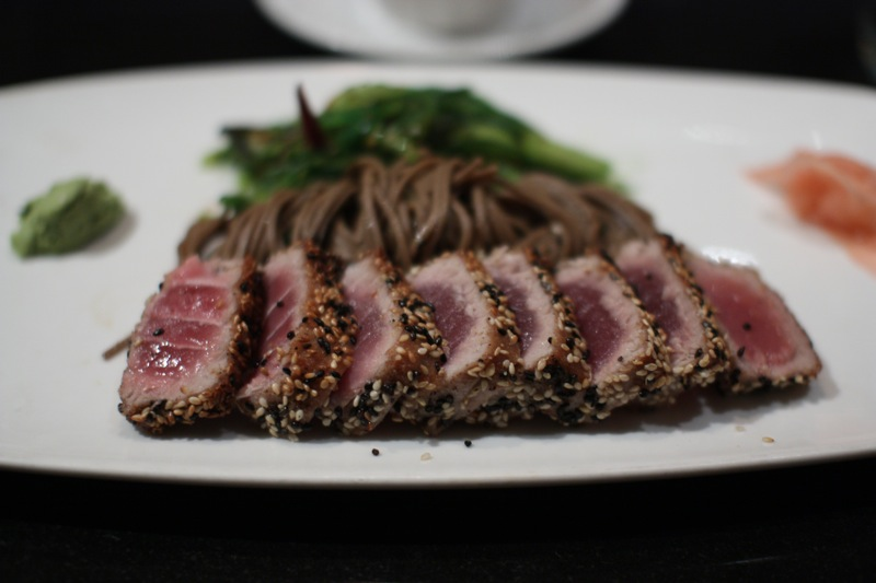 Sesame Seared Rare Tuna