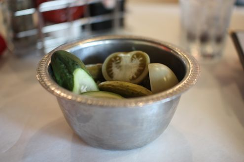 Bowl of pickles
