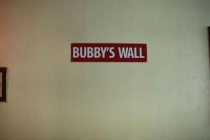 Bubby's Wall