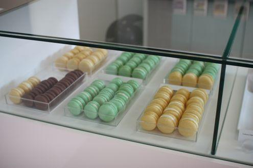 Macarons at Tout de Sweet