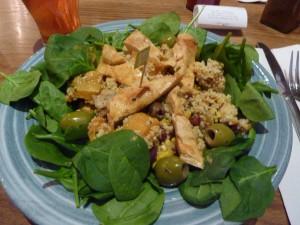 Butternut Squash and Couscous Salad