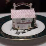Miniature Inn stuffed with treats