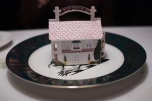Miniature Inn stuffed with treats