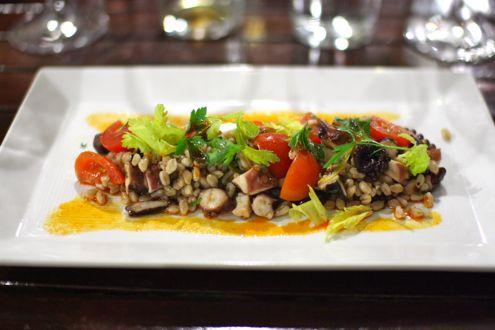 Grilled Octupus Salad