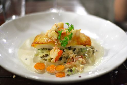 Pan-roasted Atlantic cod