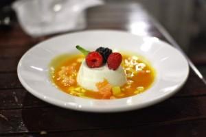 Lime and Yogurt Panna Cotta
