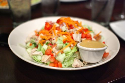 Chicken-chopped salad