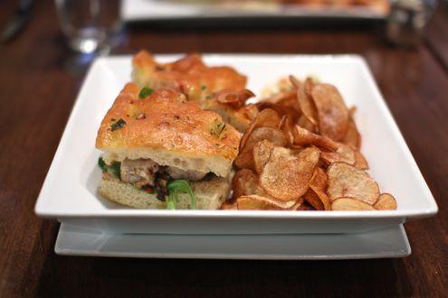 Big Eye Tuna Sandwich