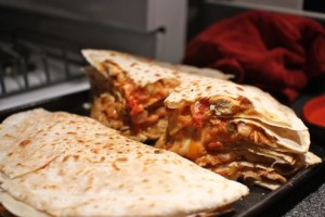 Rajiv's Cooked Quesadillas