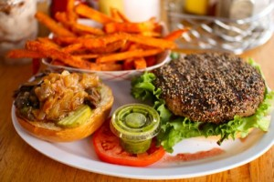 Ray's Hell Burger: Au Poivre-style
