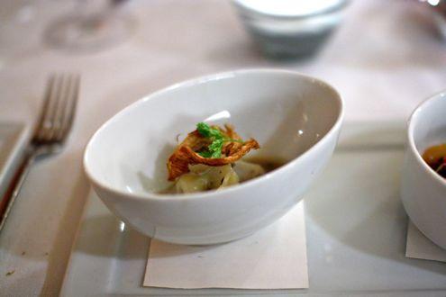 Artichoke tortelloni