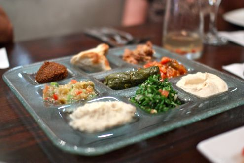 Vegetarian Mezze Platter
