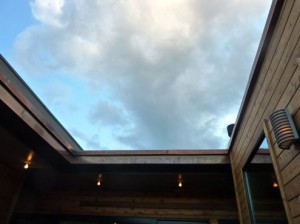 Open-air terrace