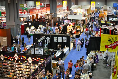 Fancy Food Show Convention Floor