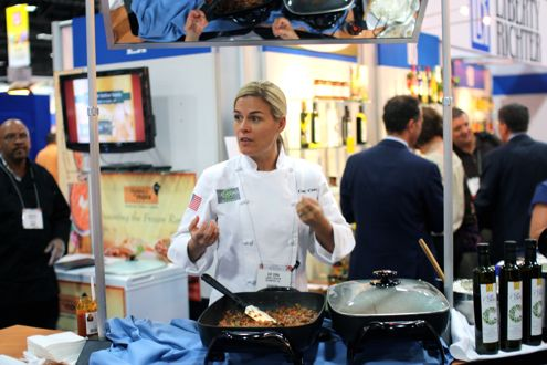 Cat Cora!