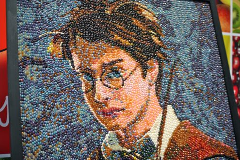 Harry Potter Jelly Belly Mural