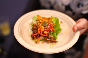 Lettuce cups - Jackie's Restaurant