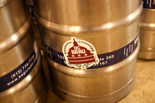 Keg of DC Brau
