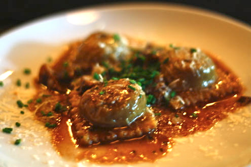 Short Rib Ravioli