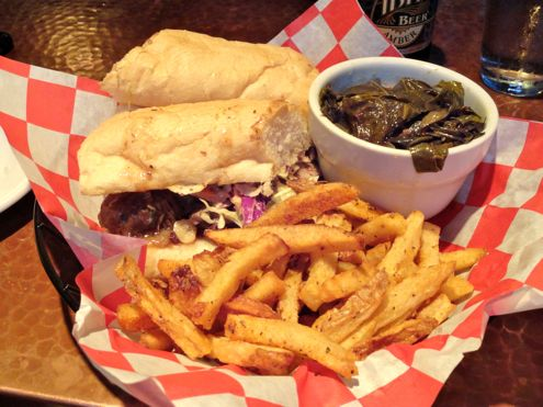 Magazine Street: Roast Beef Po' Boy