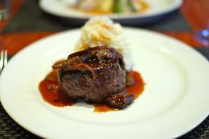 Pan Roasted Filet Mignon