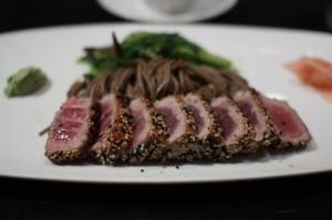 Sesame-Seared Tuna at Kinkead's