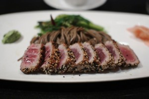Sesame-Seared Tuna at Kinkead's