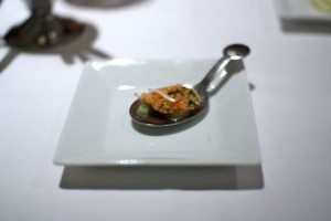Amuse Bouche - Rock Shrimp Ceviche