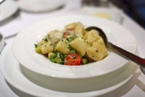 Parmesan gnocchi