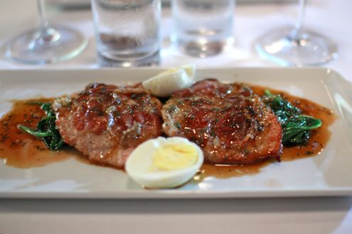 Veal Saltimbocca