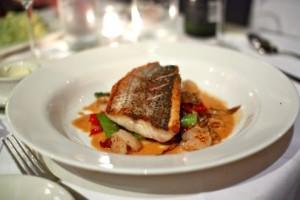 Pan-seared rockfish