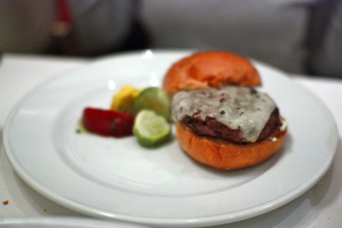 The Palena Cheese Burger