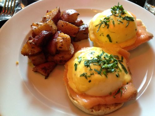 Smoked Salmon Benedict