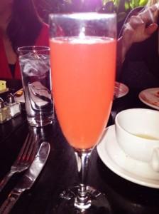Blood Orange Mimosa