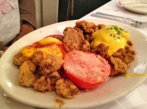 Oysters Benedict