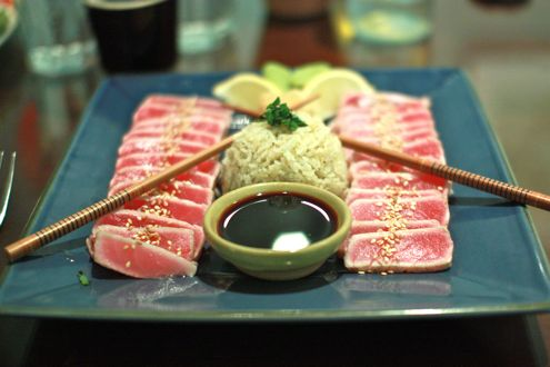 Sesame Ahi Tuna