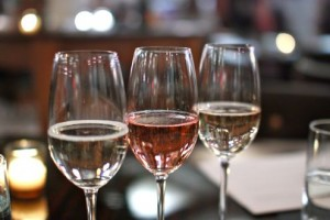 Sparking wine flight