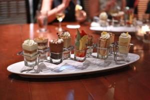 """Mini indulgences"" desserts"